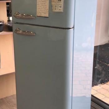 Réfrigerateur Design Bleu clair Retro Schneider